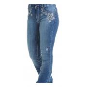 Calça Jeans Feminina West Dust Puebla Marina