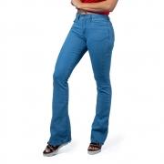 Calça Jeans Feminina Wrangler Sally Flare Delave WF2012
