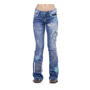 Calça Jeans Feminina Zenz Western Fabulous ZW0121008
