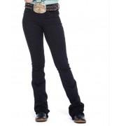 Calça Jeans Feminina Zenz Western Night