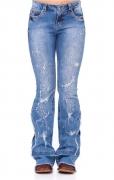 Calça Jeans Feminina Zenz Western Paris ZW0221021
