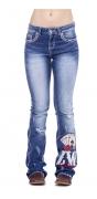 Calça Jeans Feminina Zenz Western Royale ZW0121017