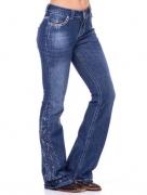 Calça Jeans Feminina Zenz Western Tropicana ZW0221022