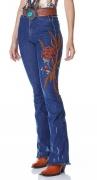 Calça Jeans Flare Feminina Minuty Country 20717