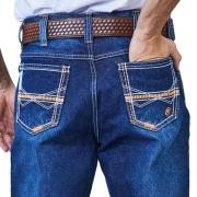 Calça Jeans Masculina Docks White Orange On