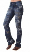 Calça Jeans Feminina Zenz Western Hunter