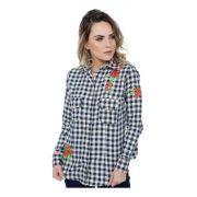Camisa Feminina Miss Country Flowers 303