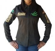 Camisa Feminina Radade Green Team Verde Militar