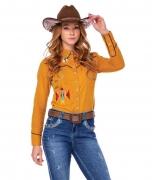 Camisa Feminina Zenz Western El Rancho ZW0221031