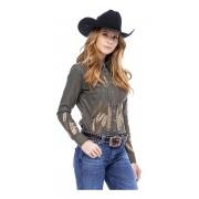 Camisa Feminina Zenz Western New York New York ZW0121025