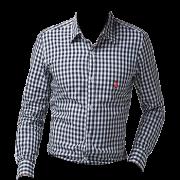 Camisa Infantil Austin Xadrez Preto