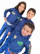 Camisa Infantil Radade Green Team Azul Marinho