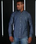 Camisa Jeans Masculina TXC Brand 2463L