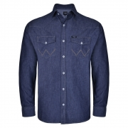 Camisa Jeans Masculina Wrangler WM9805