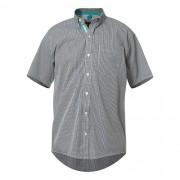3957ab2a2d Camisa Masculina Manga Curta TXC Xadrez Verde 2034C