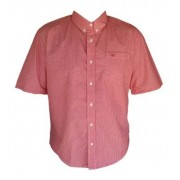 Camisa Masculina King Farm Xadrez Vermelha