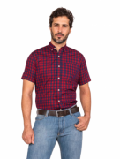 Camisa Masculina TXC Brand Marinho e Bordô 2673C