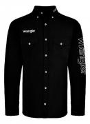 Camisa Masculina Wrangler Preta WM13112MPR