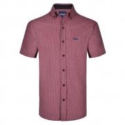 Camisa Masculina Wrangler Vinho WM9917