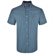 Camisa Masculina Wrangler Xadrez Azul WM9922