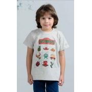 Camiseta Infantil OX Horns 5060