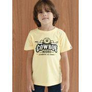 Camiseta Infantil Ox Horns Amarela 5044
