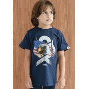 Camiseta Infantil Ox Horns Azul Marinho 5048