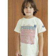Camiseta Infantil Ox Horns Bege 5040