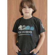 Camiseta Infantil Ox Horns Cinza 5034