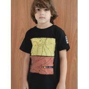 Camiseta Infantil Ox Horns Preto 5039