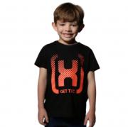Camiseta Infantil TXC Brand Preto 11414