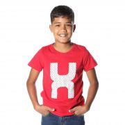 Camiseta Infantil TXC Vermelho 11403
