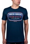 Camiseta Masculina BF///MS Azul 137  Plus Size