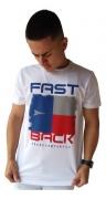 Camiseta Masculina Fast Back 1011 Branco