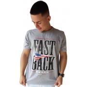 Camiseta Masculina Fast Back 1015 Mescla