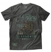 Camiseta Masculina Foxhound Chumbo C04