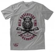 Camiseta Masculina Foxhound Cinza Adventure C06