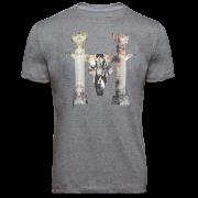 Camiseta Masculina Hey Roy H Cowboy cinza 1048