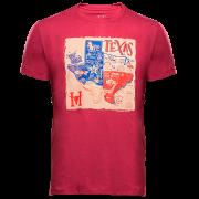 Camiseta Masculina Hey Roy Velho Texas Bordô 1049