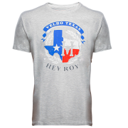 Camiseta Masculina Hey Roy Velho Texas Cinza 1052