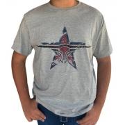 Camiseta Masculina King Farm Mescla GCM174