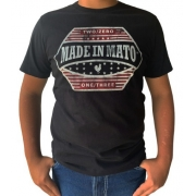 Camiseta Masculina Made In Mato C8465