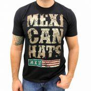 Camiseta Masculina Mexican Hats Rustic