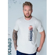 Camiseta Masculina Ox Horns 1411