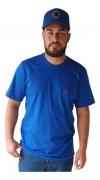 Camiseta Masculina Ox Horns Azul Royal 8024
