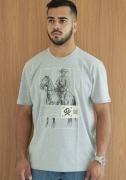 Camiseta Masculina Ox Horns Mescla 1341