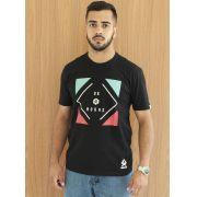 Camiseta Masculina Ox Horns Preta 1303