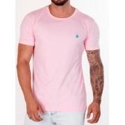 Camiseta Masculina Ox Horns Rosa 8012