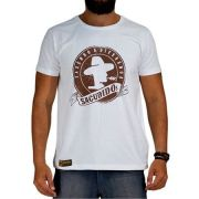 Camiseta Masculina Sacudido´s Off White Cm103