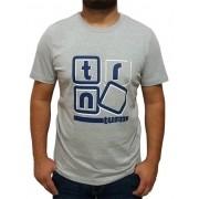 Camiseta Masculina Turn Mescla 1006